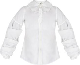 E.m. & Shi Perennial White Shirt
