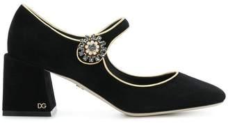 Dolce & Gabbana chunky heel Mary Janes