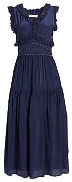 Sea Women's Hemmingway Ruffle Midi Dress - Size 0