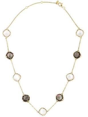 Frederic Sage 18K Doublet Station Necklace