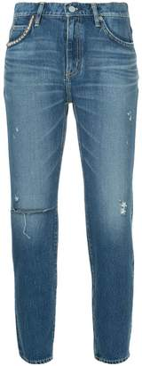 Hysteric Glamour distressed slim fit jeans