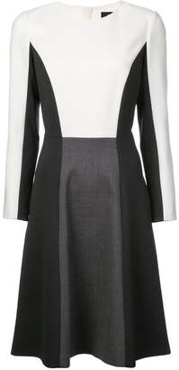 Paule Ka colour block shift dress