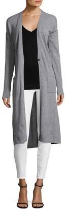 Qi Women's Cashmere Maxi Cardigan