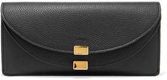 Chloé Georgia Textured-leather Wallet - Black