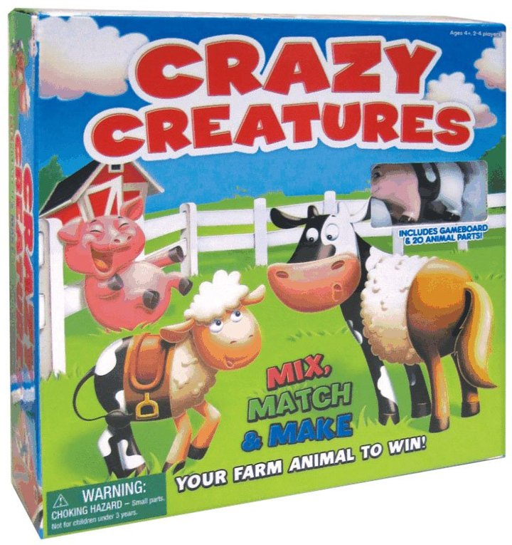 International Playthings Crazy Creatures