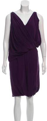 Vionnet Silk Drape Dress