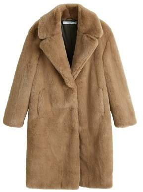 4dc9ea34d1 MANGO Fur   Shearling Coats For Women - ShopStyle UK