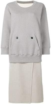 MM6 MAISON MARGIELA pocket front sweatshirt