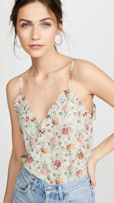 Rebecca Taylor Sleeveless Carnation Tank