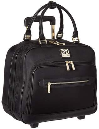 Kenneth Cole Reaction Give Me A Call - Nylon Wheeled Tote Pullman Luggage