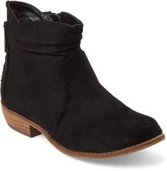 Rachel Kids Girls) Black Delia Ankle Booties