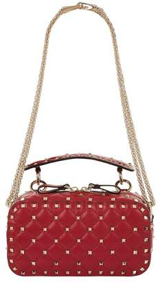 Valentino Rockstud Spike Top Handle Bag