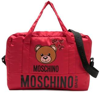 Moschino Kids toy logo print changing bag