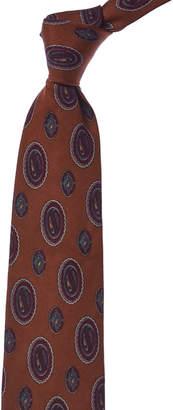 Chanel Brown Silk Tie
