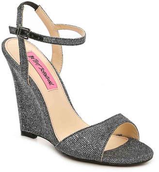 Betsey Johnson Duane Wedge Sandal - Women's