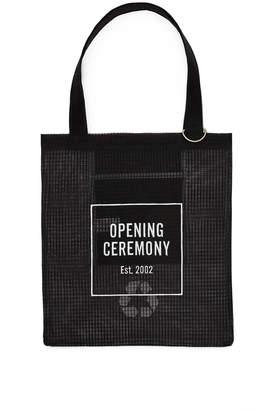 Opening Ceremony Logo Mesh Tote