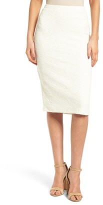 Women's Chelsea28 Jacquard Knit Pencil Skirt $69 thestylecure.com