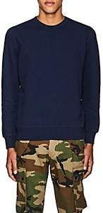 Pop Trading Company POP TRADING COMPANY MEN'S LOGO COTTON FLEECE SWEATSHIRT-NAVY SIZE S