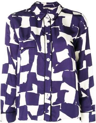 Bellerose geometric print shirt