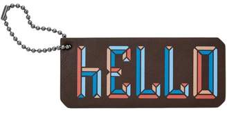 Fossil Hello Bag Tag Accessories Multi