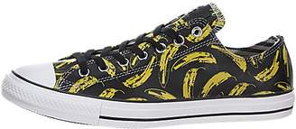 Converse Andy Warhol Banana Leather Ox Sneakers ( Men)