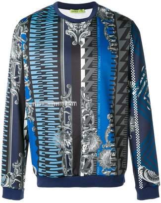 Versace Fregi crewneck sweatshirt