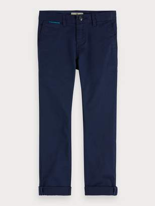 Scotch & Soda Stretch Cotton Chinos Slim fit