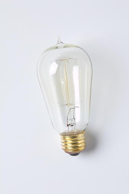 Anthropologie Slim Edison Bulb