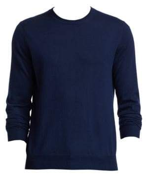 Saks Fifth Avenue COLLECTION Crewneck Lightweight Cashmere Sweater
