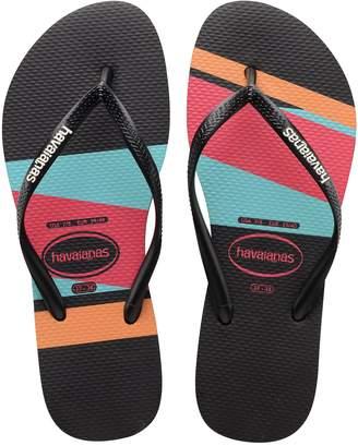 fad5a196c Havaianas Flip Flop Sandals - Slim Stripes