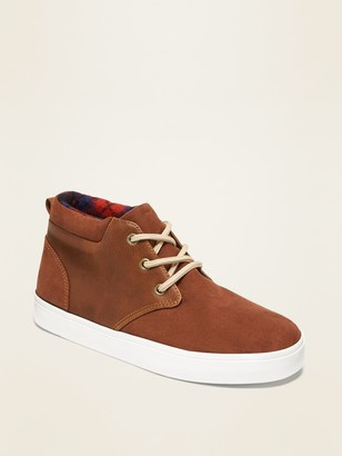 Old Navy Faux-Suede/Faux-Leather Sneakers for Boys