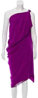Diane von Furstenberg Liluye On-Shoulder Midi Dress