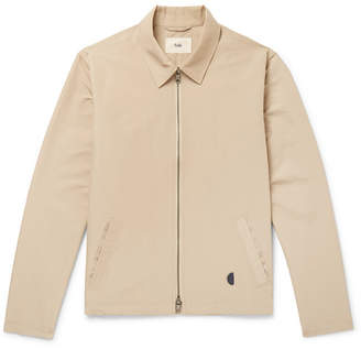 Folk Gabe Cotton-Blend Blouson Jacket - Men - Sand