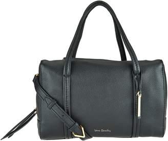 Vera Bradley Sycamore Leather Satchel -Mallory