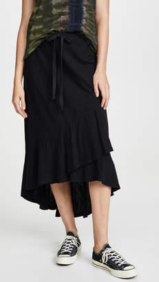 Wilt Shifted Overlay Long Skirt