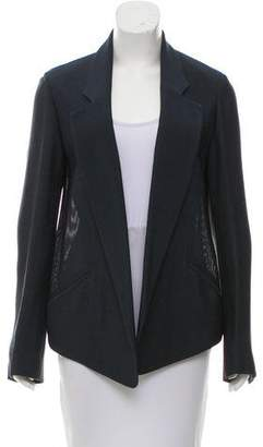 Alexander Wang Notch-Lapel Knit Blazer