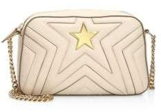 Stella McCartney Faux Leather Star Crossbody Bag