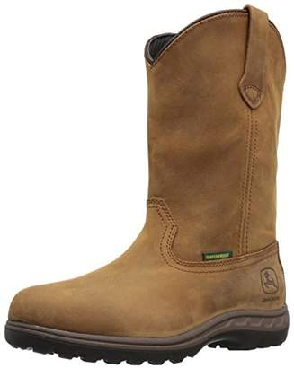 John Deere Women's JD3204 Mid Calf Boot 8.5 Medium US