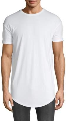 Topman Longline Crew Neck T-Shirt