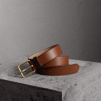 Burberry Two-tone Trench Leather Belt