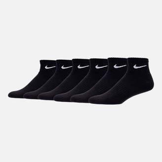 Nike Unisex Dry Cushioned 6-Pack Quarter Socks