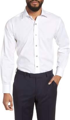 Lorenzo Uomo Trim Fit Floral Dress Shirt