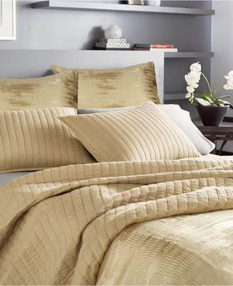 Donna Karan Casual Luxe Cotton King Quilt Bedding