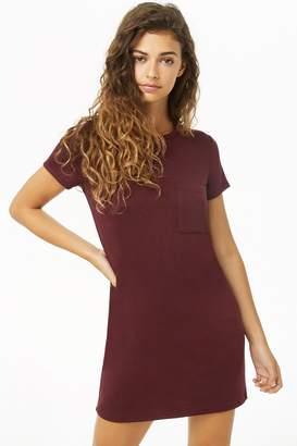 Forever 21 Marled Mini T-Shirt Dress
