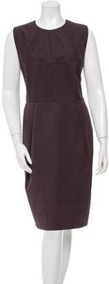 Bottega Veneta Pleated Sheath Dress