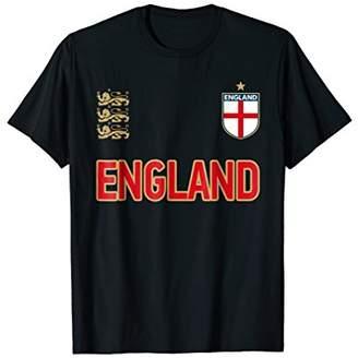Three Heraldic Lions T-Shirt - England 2018 Cheer Jersey