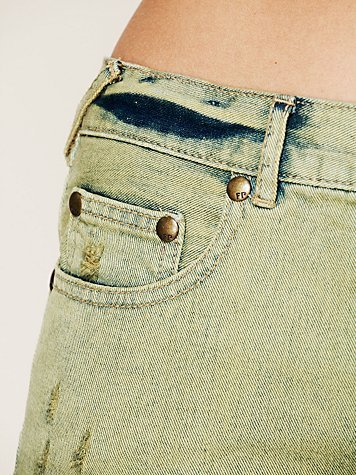 Free People Lacey Denim Cutoff Shorts