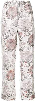 Reality Studio floral print trousers