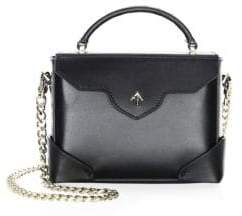 Atelier Manu Micro Bold Leather Top Handle Bag