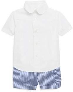Ralph Lauren Baby's Poplin Shorts Set
